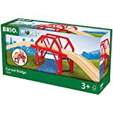 Brio - Circuit de train en bois - Pont Courbe