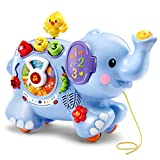 An elephant never forgets and your little one won't either when they go on new adventures with their pull & Discover activity elephant by VTech! Twist the dial and your little jungle Explorer will learn about the jungle Friends, What sounds they ...