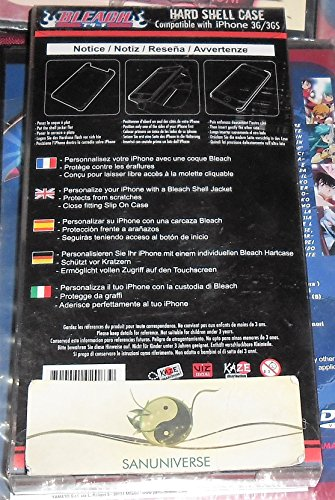 CUSTODIA GUSCIO COVER I PHONE HARD SHELL CASE ORIGINALE MANGA/ANIME BLEACH X TELEFONINO IPHONE 3G/3GS CELLULARE