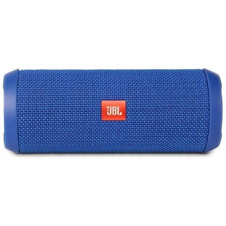 JBL Flip 3 Splashproof Portable Bluetooth Speaker - Blue (Certified Refurbished)