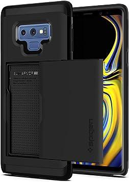 Galaxy Note 9//étui portefeuille avec fente pour carte support fin /à double couche souple TPU PC rigide robuste Bumper Heavy Duty Armour Housse robuste Coque pour Samsung Galaxy Note 9/2018/NEUF Vert