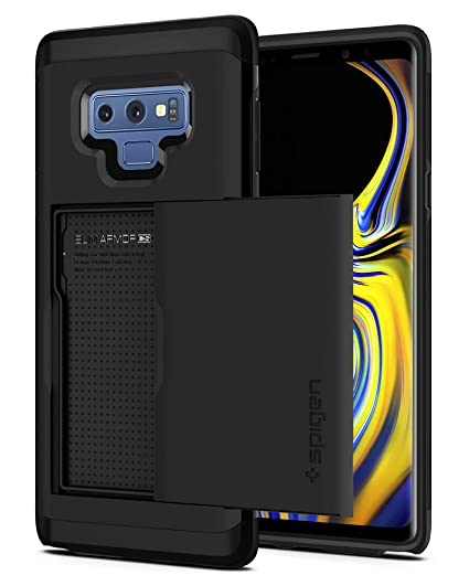 finest selection bdfaa 35de2 Spigen Slim Armor CS Designed for Galaxy Note 9 Case (2018) - Black