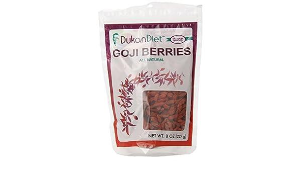 Las bayas de Goji, 8 oz (227 g) - Dieta Dukan: Amazon.es: Alimentación y bebidas
