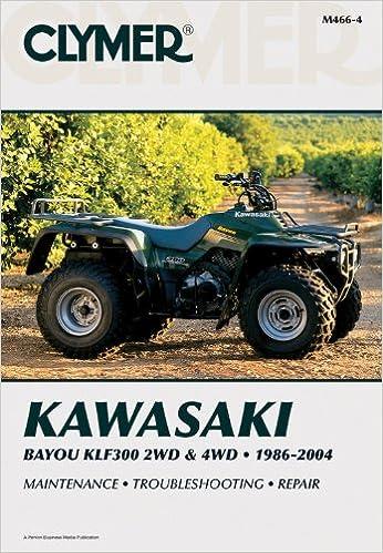 Kawasaki bayou klf300 2wd 4wd clymer manuals penton staff kawasaki bayou klf300 2wd 4wd clymer manuals penton staff 9780892879250 amazon books fandeluxe Gallery