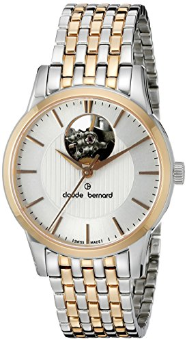 Claude-Bernard-Womens-85018-357RM-AIR-Automatic-Two-Tone-Stainless-Steel-Watch