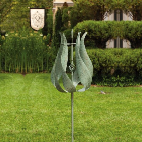 Tulip Kinetic Garden Stake by Gifted Living