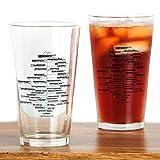 46 peaks - CafePress - ADK High Peaks Holiday - Pint Glass, 16 oz. Drinking Glass