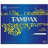 Tampax Regular Tampons für leichte bis mittlere Flow, 20Tampons