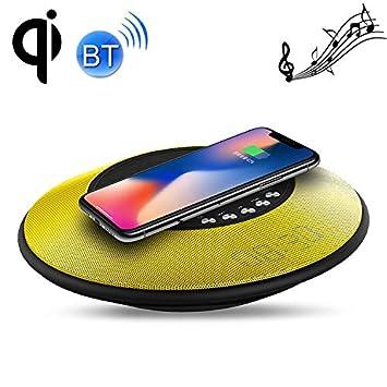 Yonis - Cargador rápido inalámbrico con reloj Bluetooth NFC ...