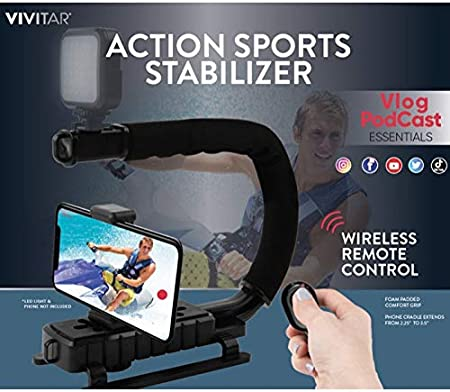 FinePix A204 Pro Video Stabilizing Handle Grip for Vertical Shoe Mount Stabilizer Handle FujiFilm FinePix 2650