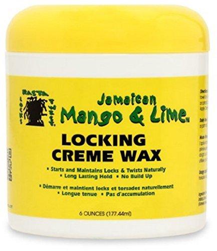 (Jamaican Mango & Lime Locking Creme Wax, 6 oz (Pack of 4))