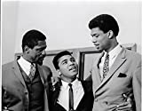 Muhammed Ali Bill Russell & Kareem Abdul - Jabbar 8 X 10 Reprint Photo - Beautiful !