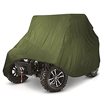 FH Group HEAVY DUTY WATERPROOF UTV SIDE BY SIDE COVER COVERS FITS UP TO 120'L W/ ROLL CAGE ATV COVER RHINO RANGER MULE GATOR PROWLER RAZOR RECON RZR PIONEER Viking Wolverine Can am Defender Wildcat HDX