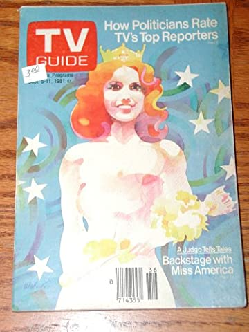 TV Guide 1981 Back Issue Miss America Cover September 5-11 Don Weller Cover Art (29) (Tv Guide September 1981)