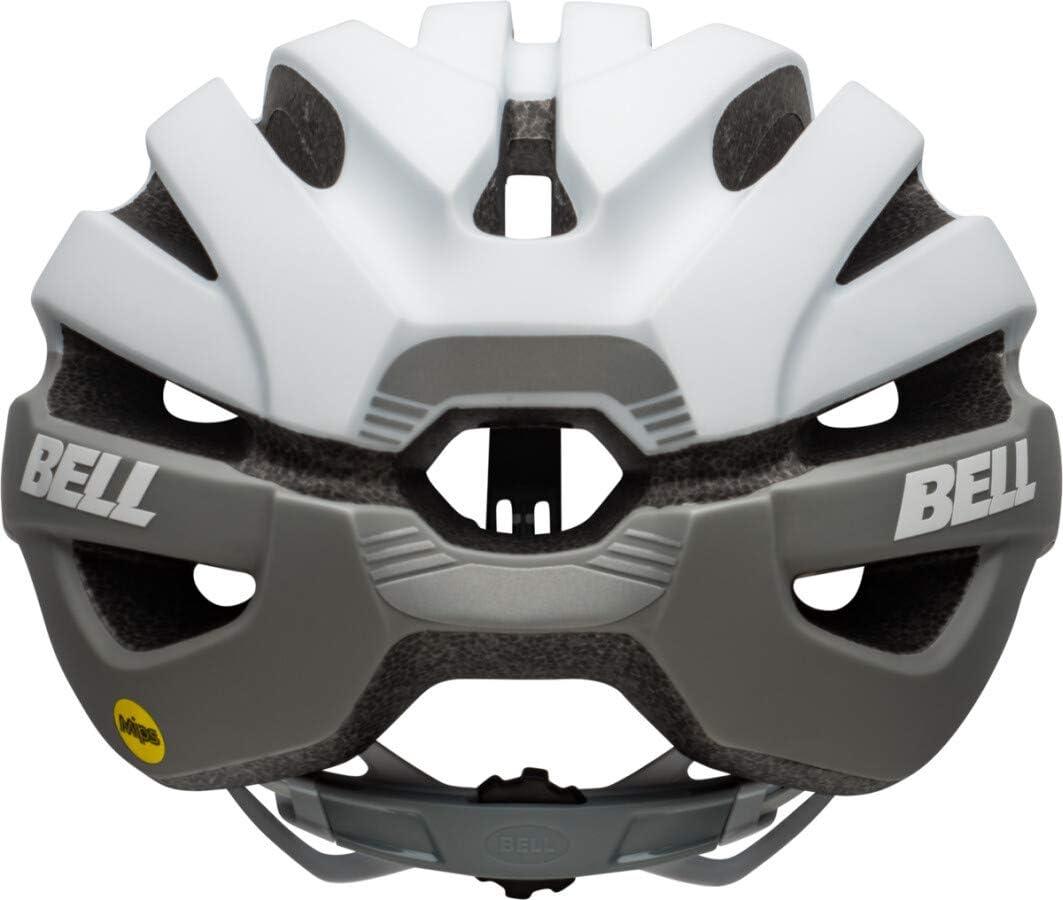 BELL Mens Avenue Mips Road Bike Helmet standard size Matte//Gloss White//Grey