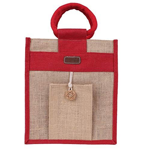 ECOTARA Maxim 100% Natural Jute Lunch Bag