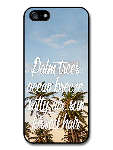 Palm Trees Ocean Sun Summer Inspirational New Cool Style Design coque pour iPhone 5 5S
