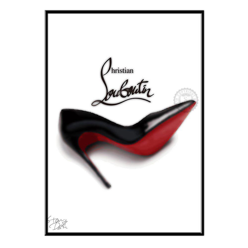 Christian Louboutin ポップアート #yg03 オマージュアートポスター Star design A1サイズ(594×841mm) B01LZWI2SEA1(594×841mm)