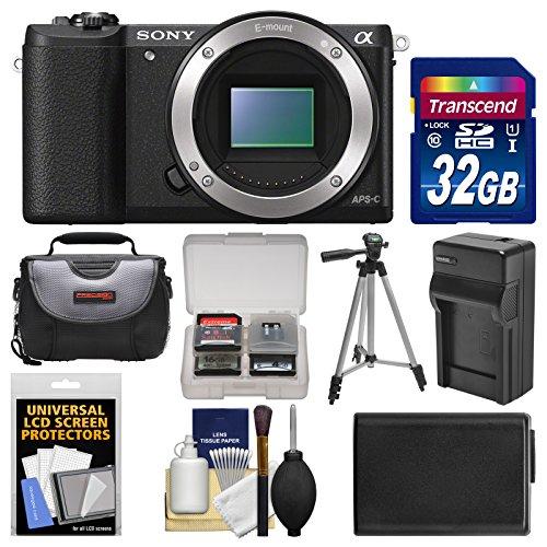 Sony Alpha A5100 Wi-Fi Digital Camera Body  with 32GB Card +