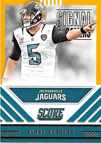 8fc26e1f6 Blake Bortles football card (Jacksonville Jaguars) 2016 Score  11 ...
