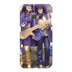 Durable Hard Phone Case For Samsung Galaxy S6 (zYH11821VpUw) Custom Fashion Kiss Band Image