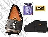 Oscar Schmidt 21 Chord Autoharp, Select Maple, Plays In 11 Keys, Sunburst, OS21C