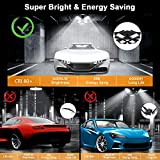 LED Garage Light, Upgrade 120W Deformable 4