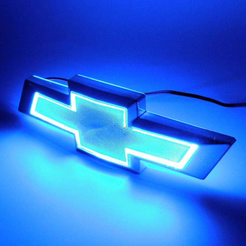 Blue 5D LED Car Auto Tail Logo Light Badge Lamp Emblem For CHEVROLET CRUZE EPICA