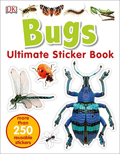 Ultimate Sticker Book: Bugs (Ultimate Sticker Books)