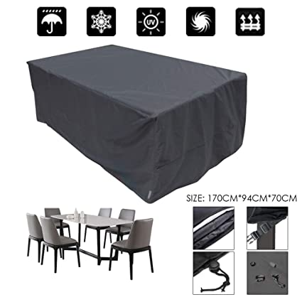 Waterproof Patio Furniture Table Chair Cover Outdoor Garden Rectangle Square NEW