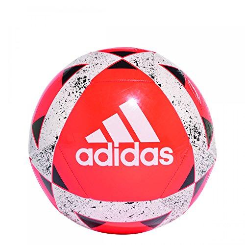 adidas Starlancer V Balón de Fútbol, Hombre Multicolor (rojsol/Blanco/Negro)