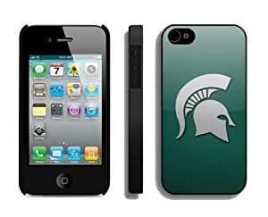 DIY Iphone 4 Case Mate 4s Cover Ncaa Michigan State Spartans Cheap Mobile Accessories for Guys