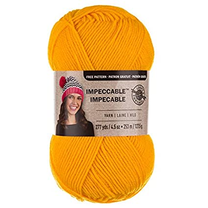 Amazon com: Loops & Threads Impeccable Yarn 4 5 oz  One Ball