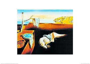 1art1® Salvador Dali - La Persistencia De La Memoria, 1931 Póster Impresión Artística (70 x 50cm): Amazon.es: Hogar