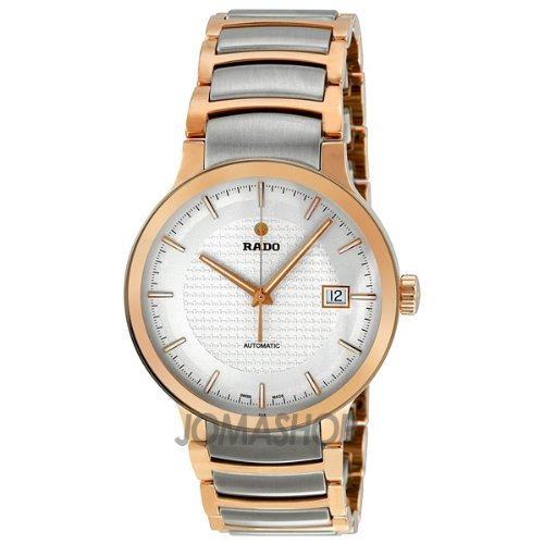 Rado Men's 'Centrix' Swiss Automatic Stainless Steel Casual Watch, Color:Two Tone (Model: R30953123)