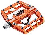 Funn Mamba MTB Pedal Set, Single Side Clip, SPD Compatible (Orange)