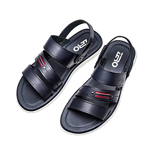 ZRO Men's Fashion Summer Casual Beach Sandals Flexible BLUE US 8