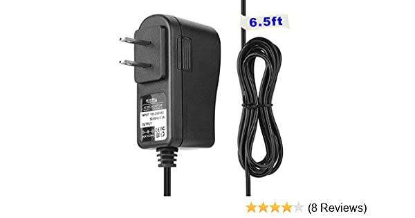 EPtech AC//DC Adapter for Uniden UDW20553 UDW20055 UDWC25 Wireless Security System Receiver and Camera Power Supply Cord Charger PSU 6.5ft Long Cable