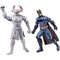 """DC Justice League Batman vs Steppenwolf Figuras, 12 """"(paquete de 2)"""