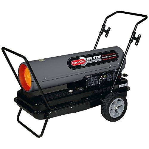 Dyna Glo Delux KFA220DGD Kerosene Forced Air Heater, 180K or 220K BTU