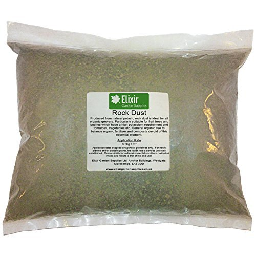 Elixir Gardens ® Rock Dust Organic Fertilizer - 10KG Bag
