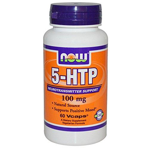 5-HTP 100mg 60 VegiCaps (Pack of 2)