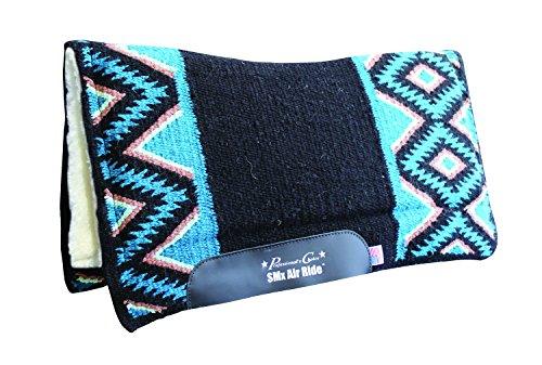 Air Ride Western Saddle Pad (Professionals Choice El Dorado Air Ride Wool Pad B)