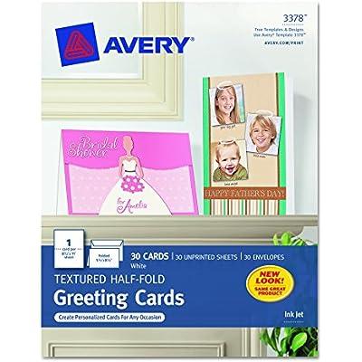 avery-3378-textured-half-fold-greeting