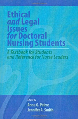 nursing ethical and legal issues Law and ethics in nursing the purpose of this paper is to discuss nursing ethics legal and ethical issues during one's nursing career may be as.