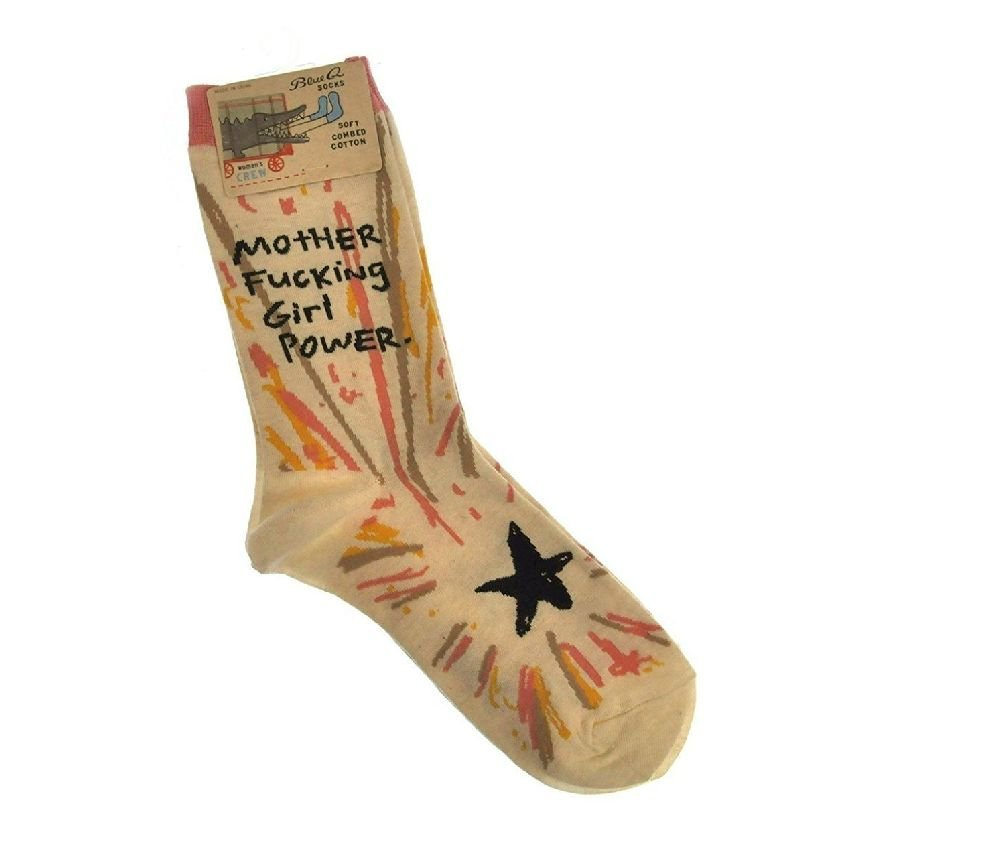 Mother FCking Girl Womens Crew Socks