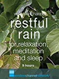 Restful Rain for relaxation, meditation and sleep 9 hours