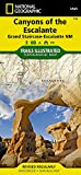 img - for Canyons of the Escalante [Grand Staircase-Escalante National Monument] (National Geographic Trails Illustrated Map) book / textbook / text book