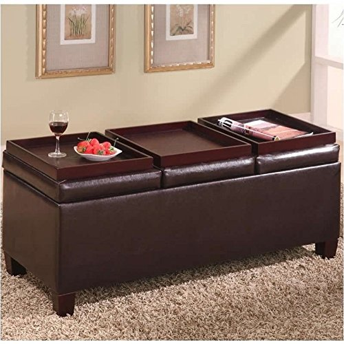 coaster-storage-ottoman-coffee-table-with-trays-brown-vinyl
