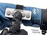 Chubby Buttons Bluetooth Music Remote (Wearable & Stickable) | Big, Easy-Press Buttons for Gloves